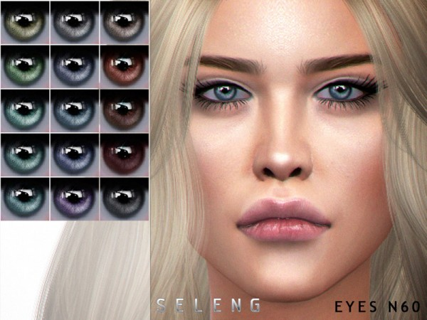 The Sims Resource: Eyes N60 by Seleng