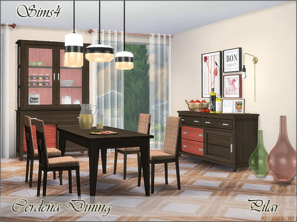 The Sims Resource: Cerdena Dining by Pilar