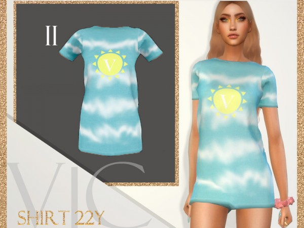 The Sims Resource: Shirt 22Y II by Viy Sims