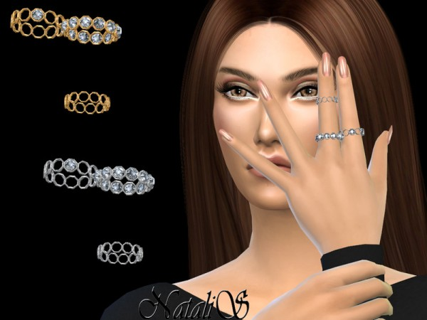 The Sims Resource: Cell crystal rings by NataliS