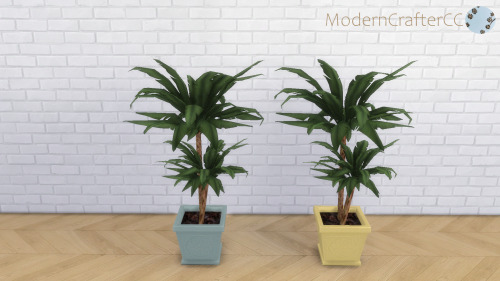 Modern Crafter: Potted Palm Recolour