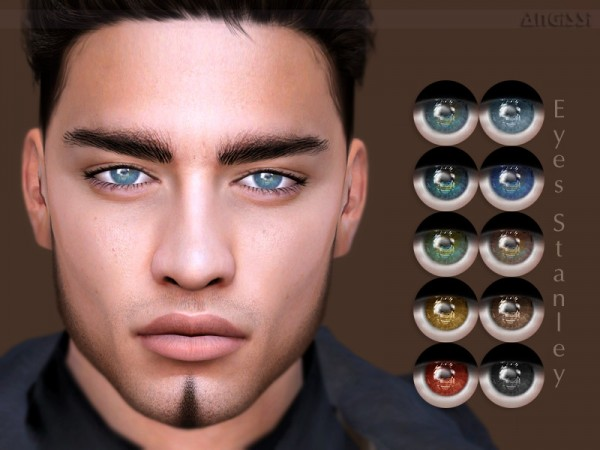 The Sims Resource: Eyes Stanley by ANGISSI