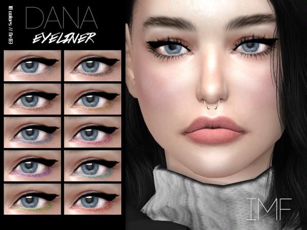 The Sims Resource: Dana Eyeliner N.83 by IzzieMcFire