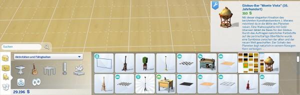 Mod The Sims: Globe bar by hippy70