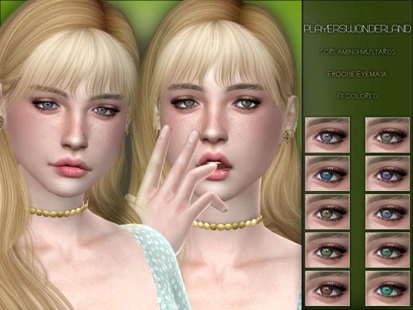 Players Wonderland: Screaming Mustard's Epoch Eyemask Recolored