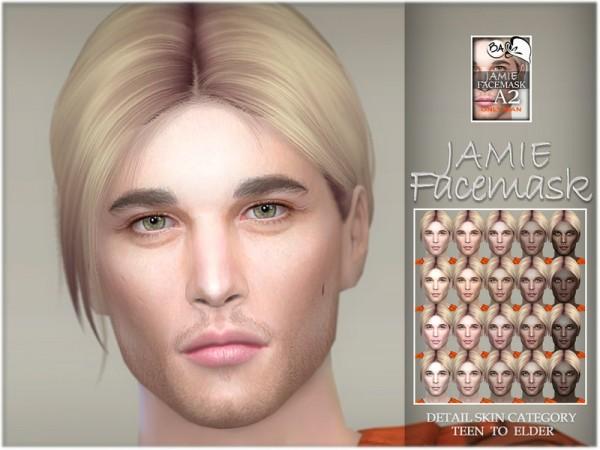The Sims Resource: Jamie facemask byBAkalia