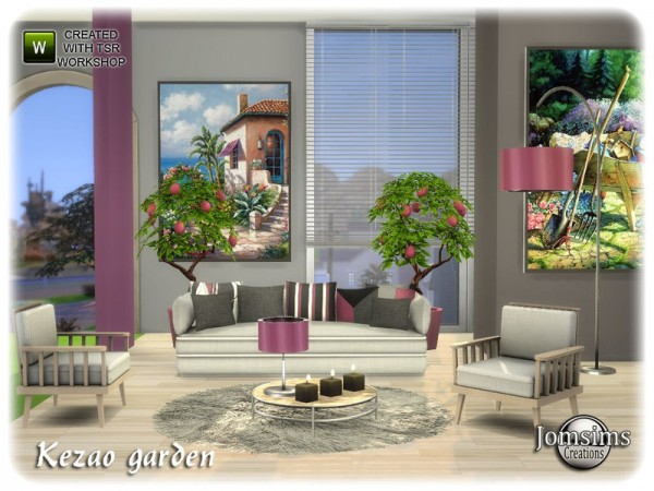 The Sims Resource: Kezao garden by jomsims
