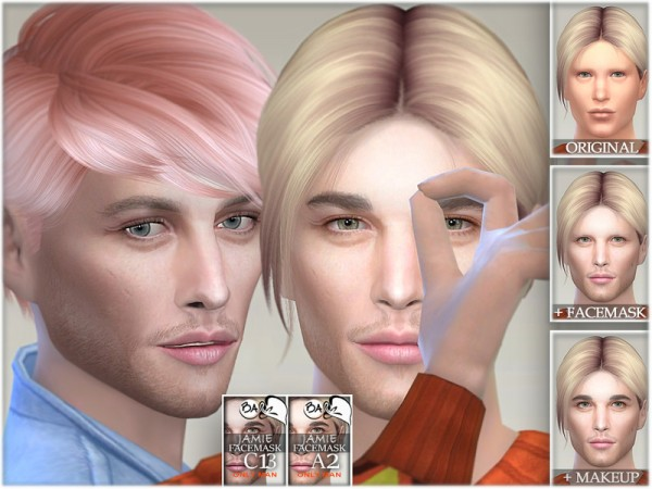 The Sims Resource: Jamie facemask byBAkalia