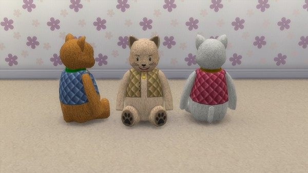 Mod The Sims: Plush cat by hippy70