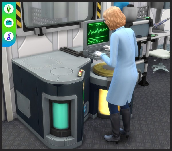 Mod The Sims: Chemical analyzer by Peter Molinari