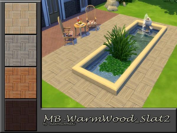 The Sims Resource: Warm Wood Slat 2 by matomibotaki