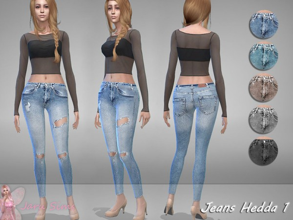 The Sims Resource: Jeans Hedda 1 by Jaru Sims