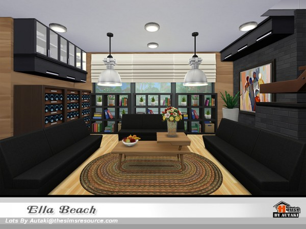 The Sims Resource: Ella Beach NoCC by autaki