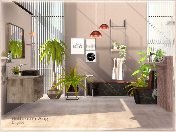 The Sims Resource: Bathroom Angi by ung999
