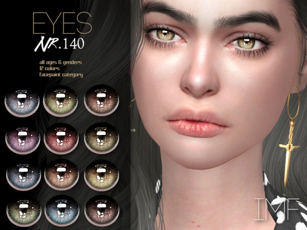 The Sims Resource: Eyes N.140 by IzzieMcFire