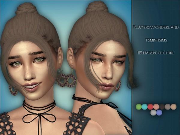 Players Wonderland: Tsminh`s 116 Hair Retextured