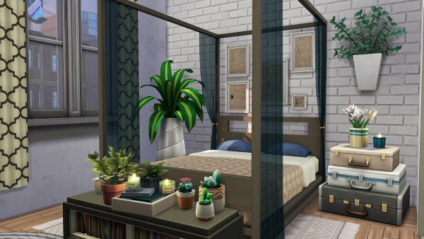 Aveline Sims: Crazy Plant Apartment