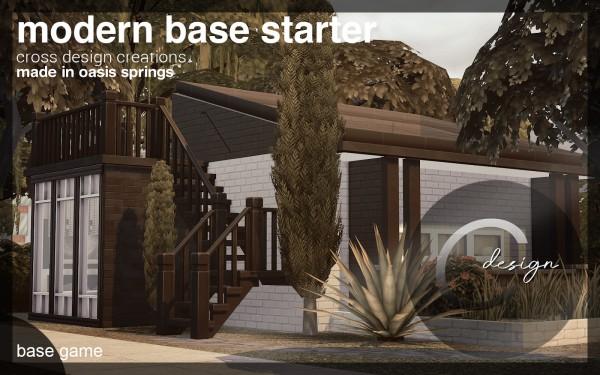 Cross Design: Modern Base Starter