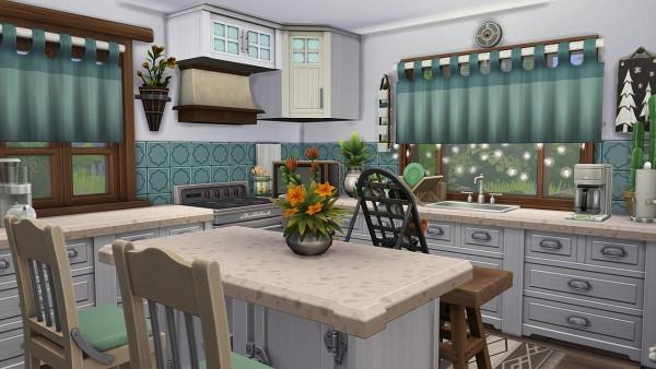 Aveline Sims: Gardeners Dream Home