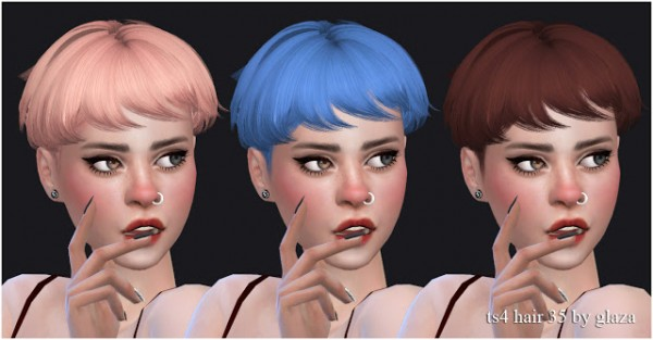 All by Glaza: Hair 35