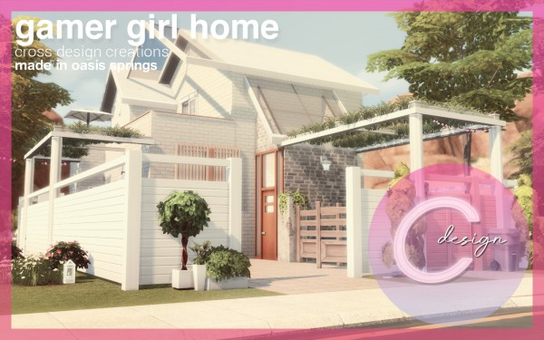 Cross Design: Gamer Girl Home