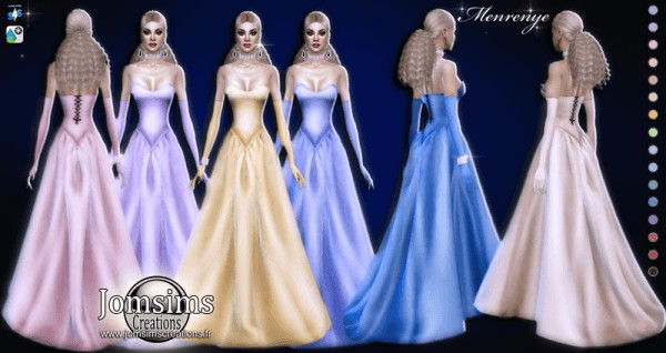 Jom Sims Creations: Menrenye dress