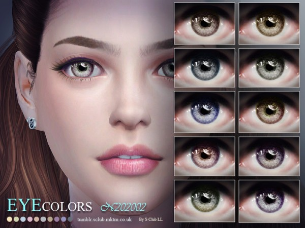 The Sims Resource: Eyecolors 202002 by S Club