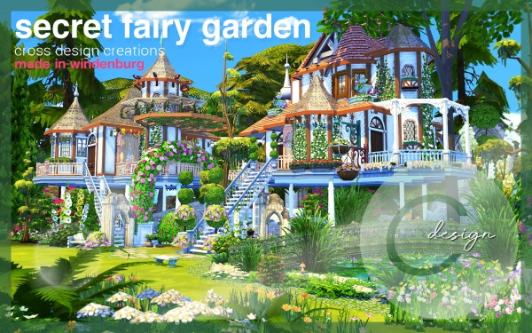 Cross Design: Secret Fairy Garden