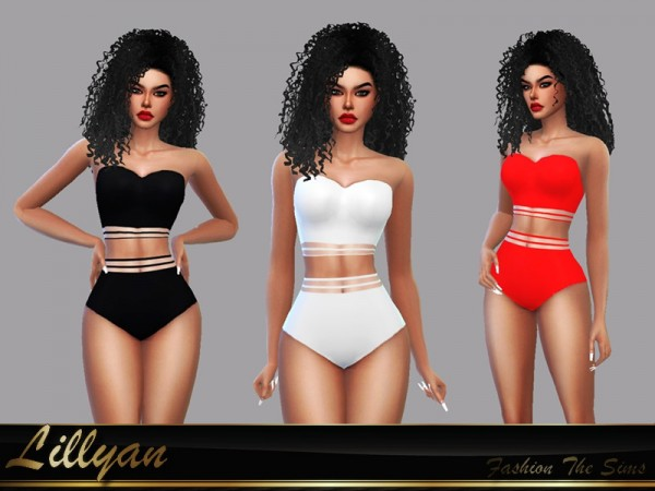 The Sims Resource: Swimsuit Melissa by LYLLYAN
