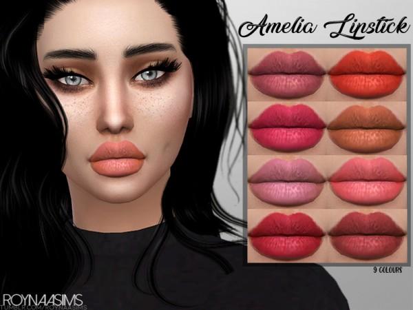 The Sims Resource: Amelia Lipstick by Roynaa