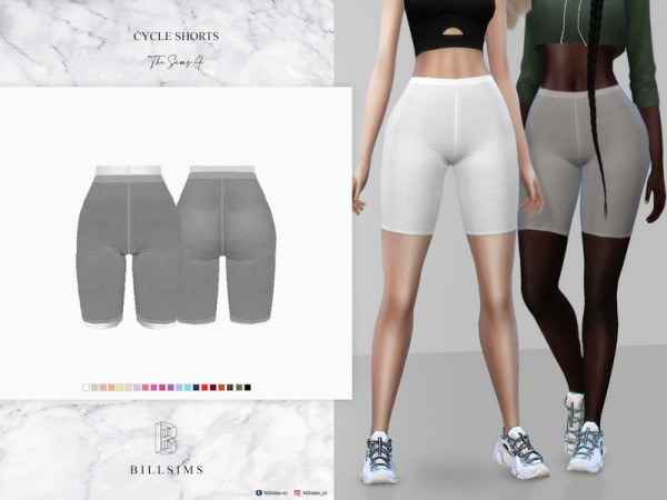 The Sims Resource: Cycle Shorts by Bill Sims