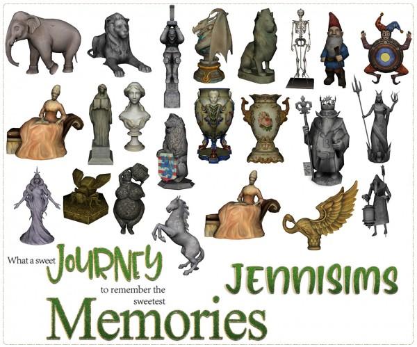 Jenni Sims: Decorative Statues 24 Items