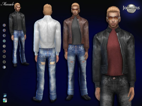 The Sims Resource: Manuelo outfitby jomsims