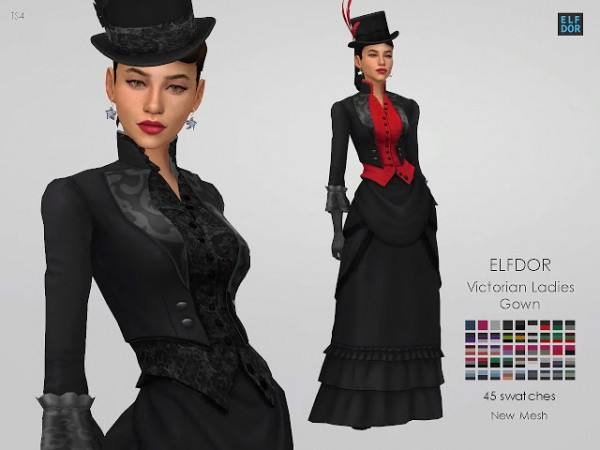 Elfdor: Victorian Ladies Gown