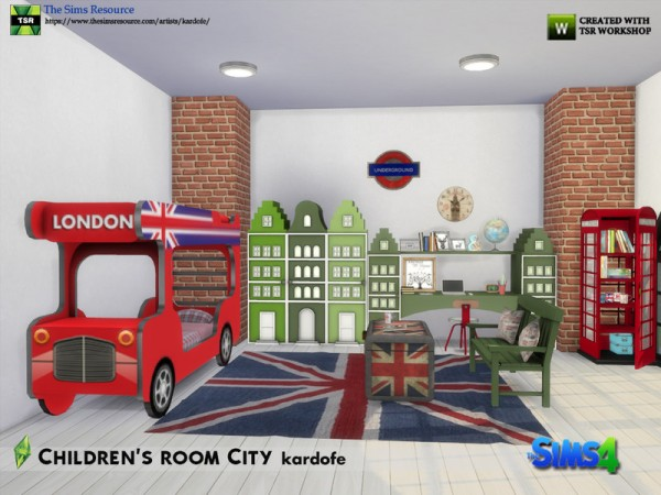 The Sims Resource: Childrens room City by kardofe