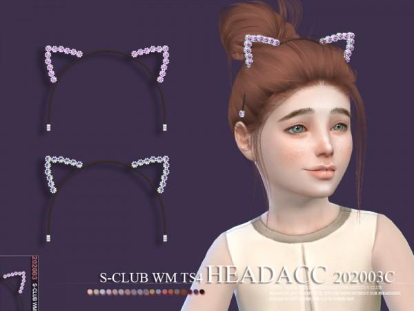 The Sims Resource: Headacc 202003 C by S Club