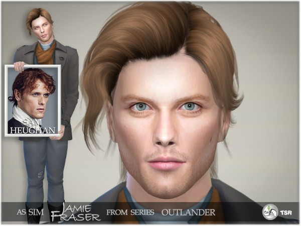 The Sims Resource: Outlander   Jamie Fraser by BAkalia