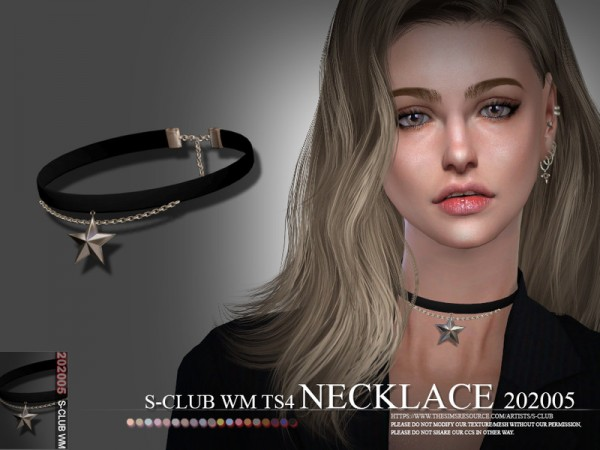 The Sims Resource: Necklace WM  202005 by S Club