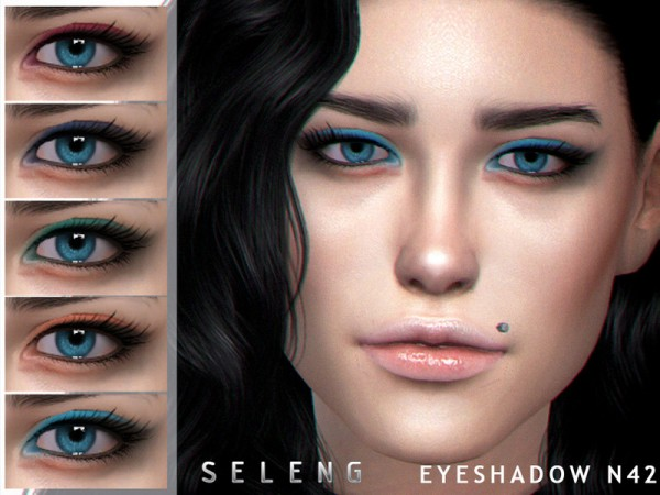 The Sims Resource: Eyeshadow N42 by Seleng