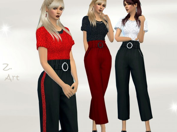 The Sims Resource: TrendZ. 20 03 Outfit by Zuckerschnute20