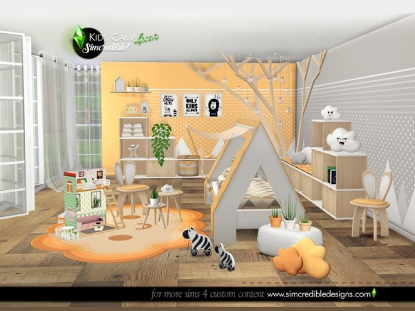 The Sims Resource: Kids Camping decor by SIMcredible!