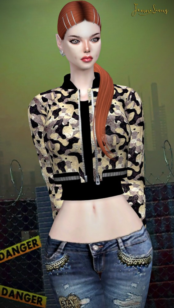 Jenni Sims: Jacket