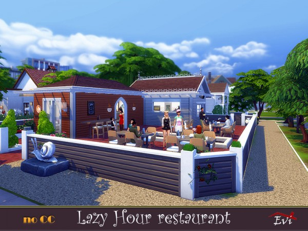 The Sims Resource: Lazy hour Restaurant by evi