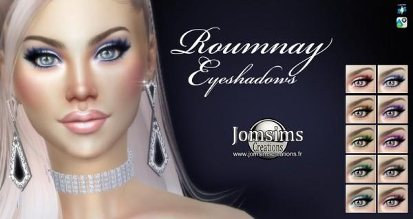Jom Sims Creations: Roumnay eyeshadows