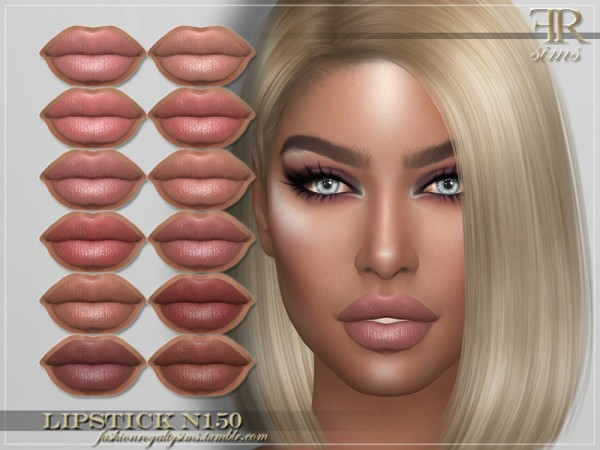 The Sims Resource: Lipstick N150 by FashionRoyaltySims