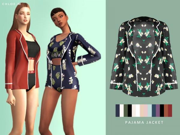 The Sims Resource: Pajama jacket by ChloeM