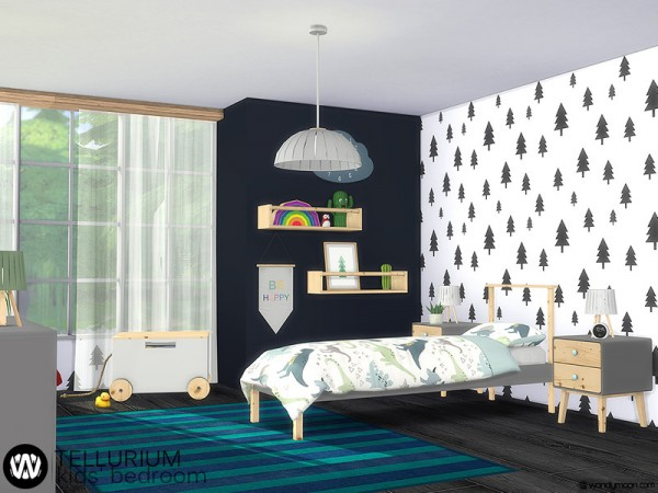 The Sims Resource: Tellurium Kids Bedroom by wondymoon