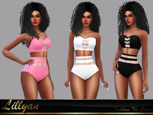 The Sims Resource: Swimsuit Samanta by LYLLYAN