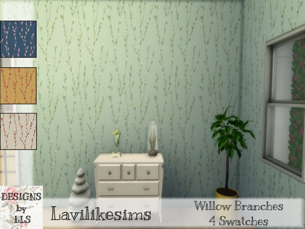 The Sims Resource: Willow Branches by lavilikesims