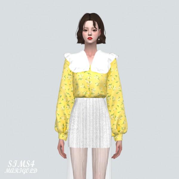 SIMS4 Marigold: A Spring Blouse